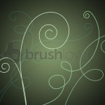 Vine Swirls Free Photoshop Brushes