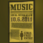 Free Music Flyer PSD by: Martz90