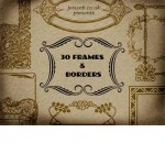 30 Vintage Frames and Borders
