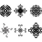 6 Decorative Ornaments Vectors