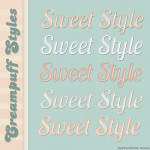 Sweet PS Styles