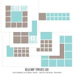 Hello Baby Templates by: MissTiina
