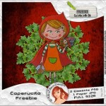 Caperucita Freebie Elements and Paper