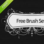 Free Ornate Frames Headers Brushes
