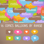 Comic Balloons Free Clipart