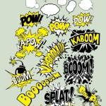 Comic Speech Bubbles Shapes