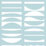 Custom Shapes – Web Ribbons 2