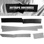 20 Tape Brushes