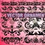 Vector Ornaments Shapes Clipart