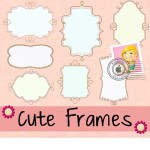 Cute Free Doodle Frames Brushes