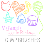 Gimp Doodle Brushes