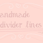Cute Hand Made Divider Lines Brushes for Photoshop