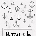Anchor Brushes for Photoshop