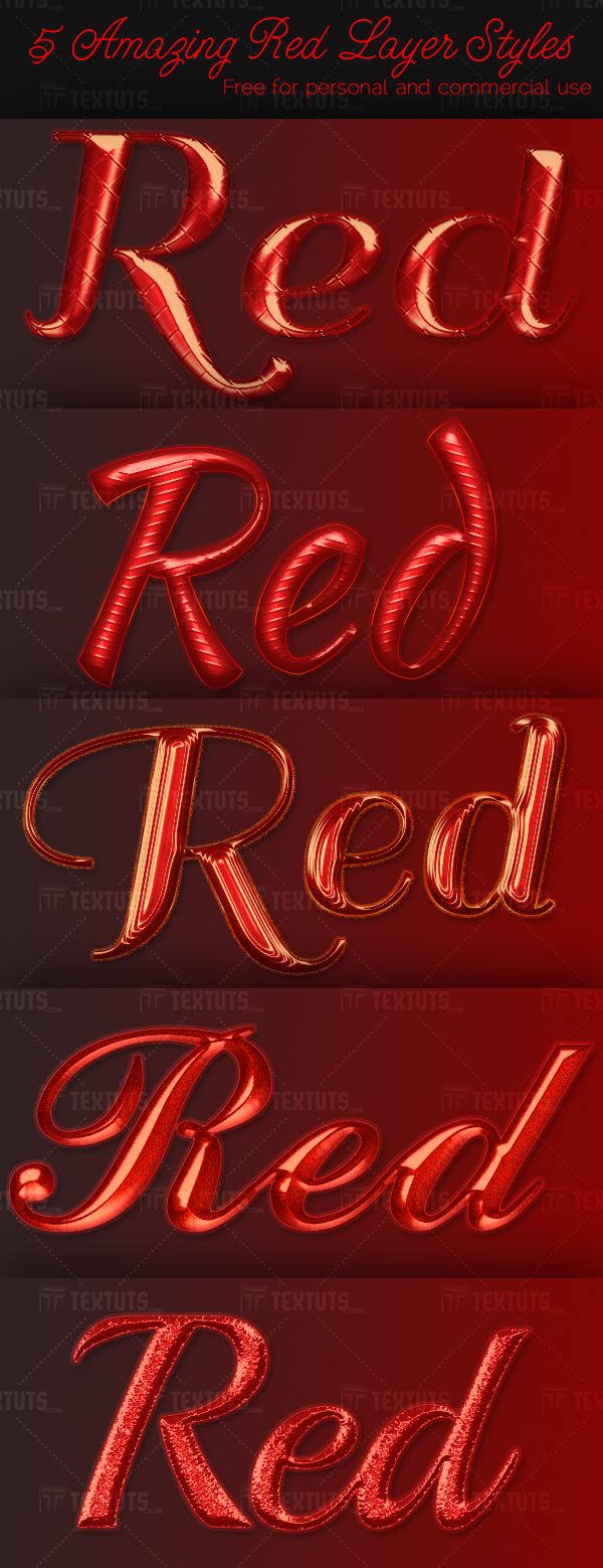 5-Amazing-Red-Layer-Styles-textuts.com-Preview
