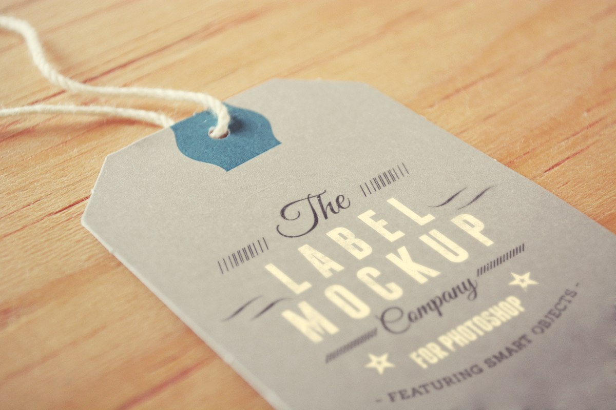 Tags Labels Mockup Photoshop PSD : Design Share