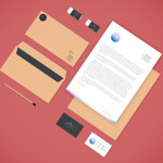 PSD Branding Stationery Mockup