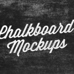 Complimentary Chalkboard Lettering Mock-Ups
