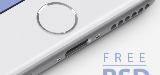 Free iPhone 6 Mockup – Photoshop PSD
