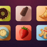 Tasty Icons Freebie