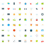 Tiny Vector Icons Set – Photoshop PSD