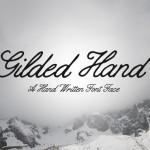 Gilded Hand – Script Font