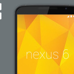 Vector and Photoshop PSD of Nexus 6 Model Display Mockup