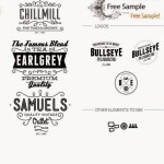 Textures, Vectors and Logo Mockups Freebie