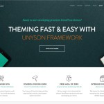 Unyson WordPress Theme Framework
