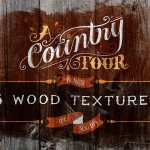 Vintage Country Wood Textures for Photoshop