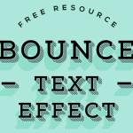 Vintage 3D Text Effect Photoshop PSD