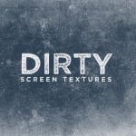 Dirty Screen Textures for Photoshop