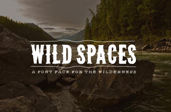 western_font_wilderness_wild_spaces