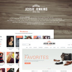 Business Web Design – eCommerce PSD Template