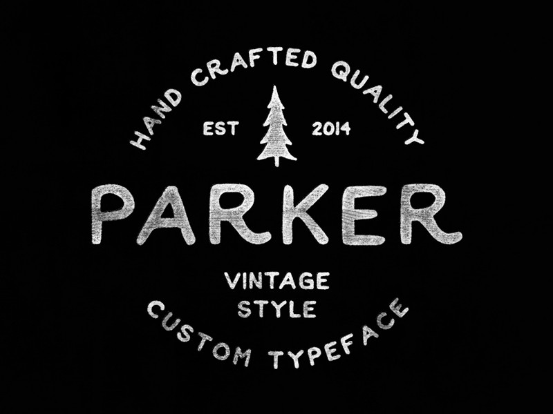 parker_hipster_font