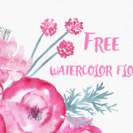 Gorgeous Clip Art Download – Watercolor Flowers