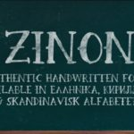 Zinon Quirky Hand Drawn Serif Font
