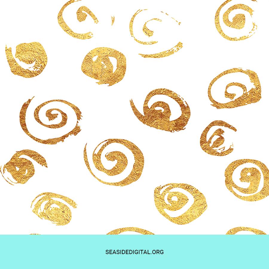 Complimentary Elegant Foil Patterns