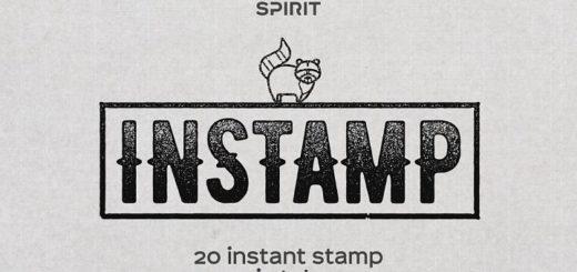 Instastamp Styles for Adobe Illustrator